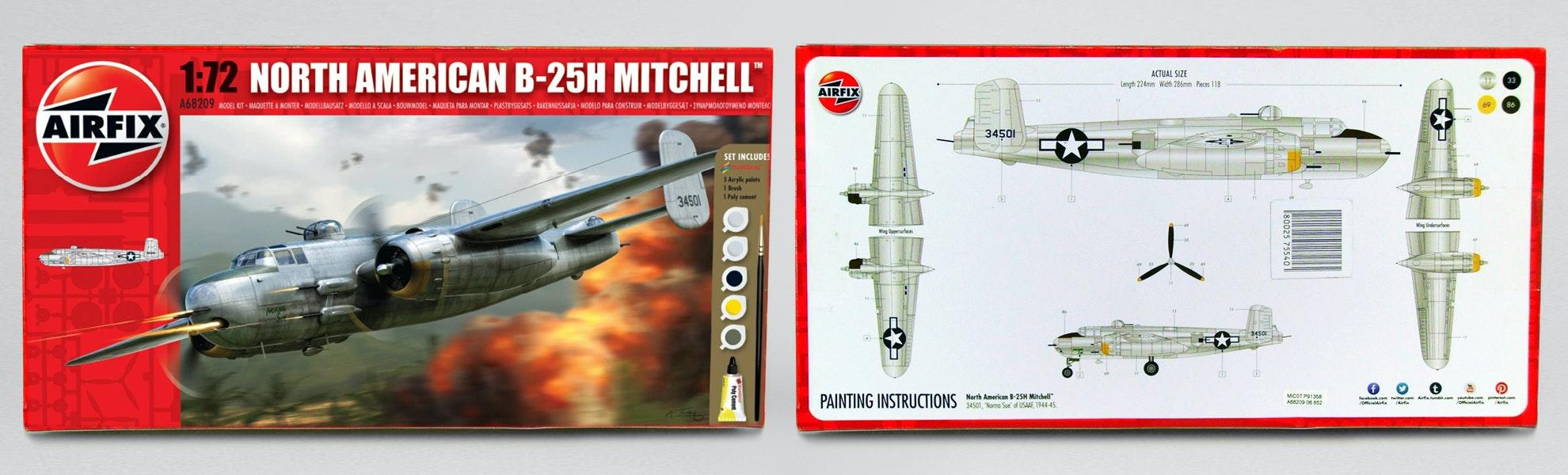 Airfix North American B-25 Mitchell Model 1:72