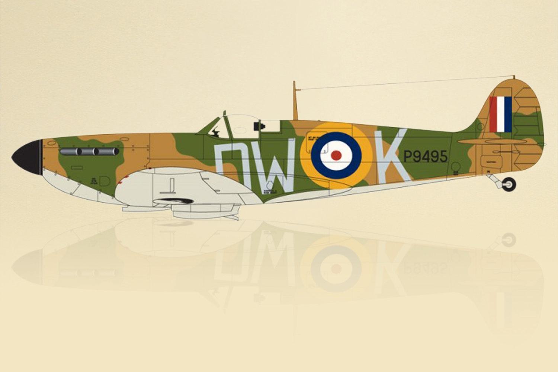 Airfix Supermarine Spitfire MkIa 1:72