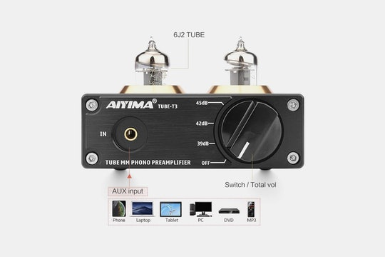 AIYIMA Tube T3 Phono Preamplifier