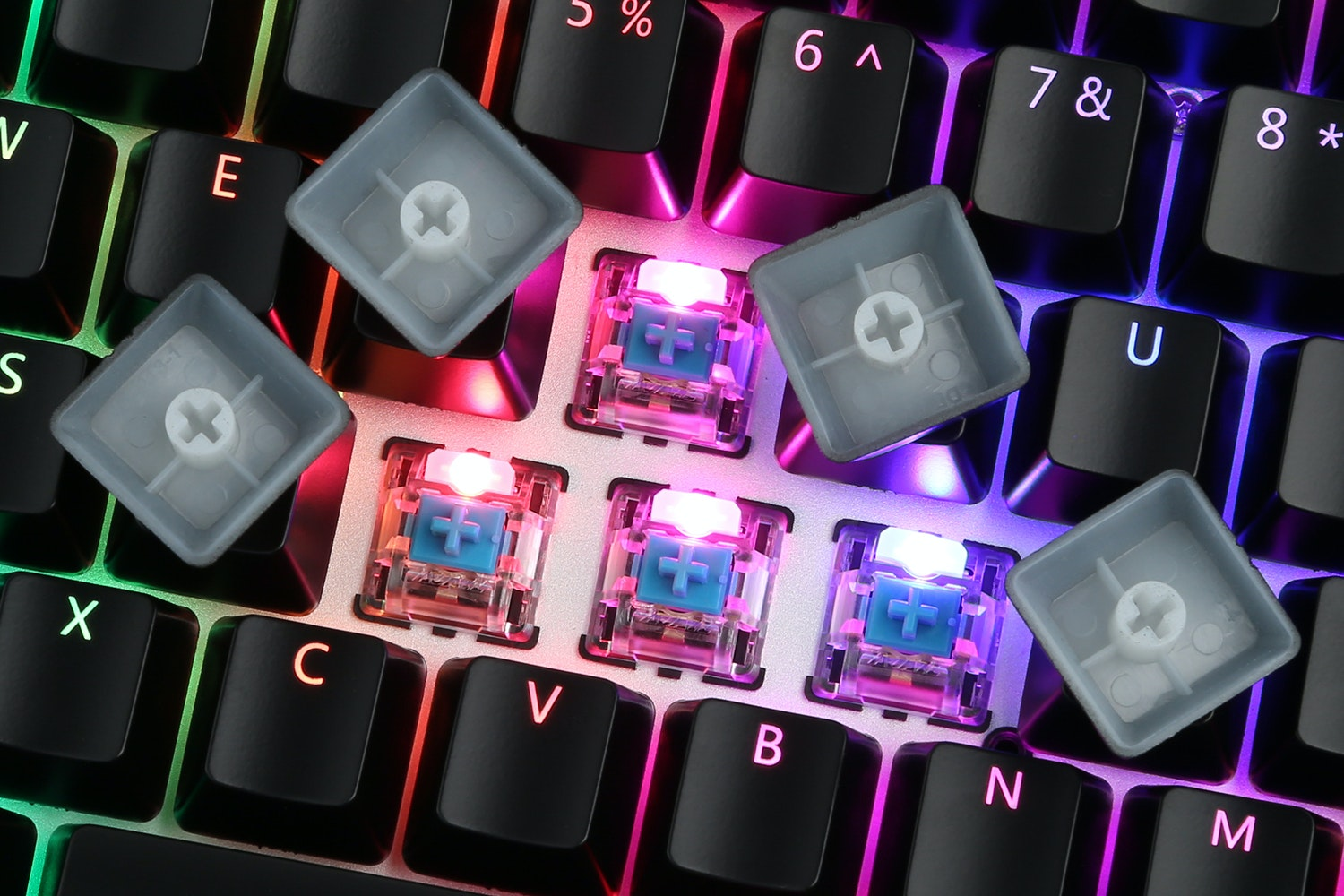AJAZZ AK33 RGB 82 Key Mechanical Keyboard