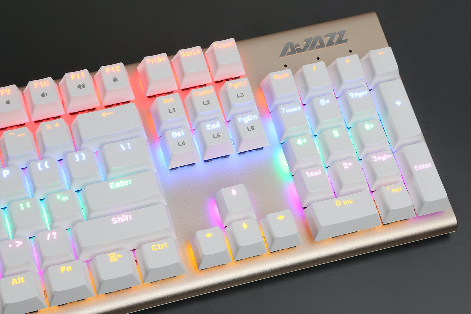 AJAZZ AK40S Fullsize Mechanical Keyboard