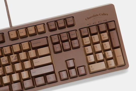 Ajazz Chocolate Cubes Full-Size Mechanical Keyboard