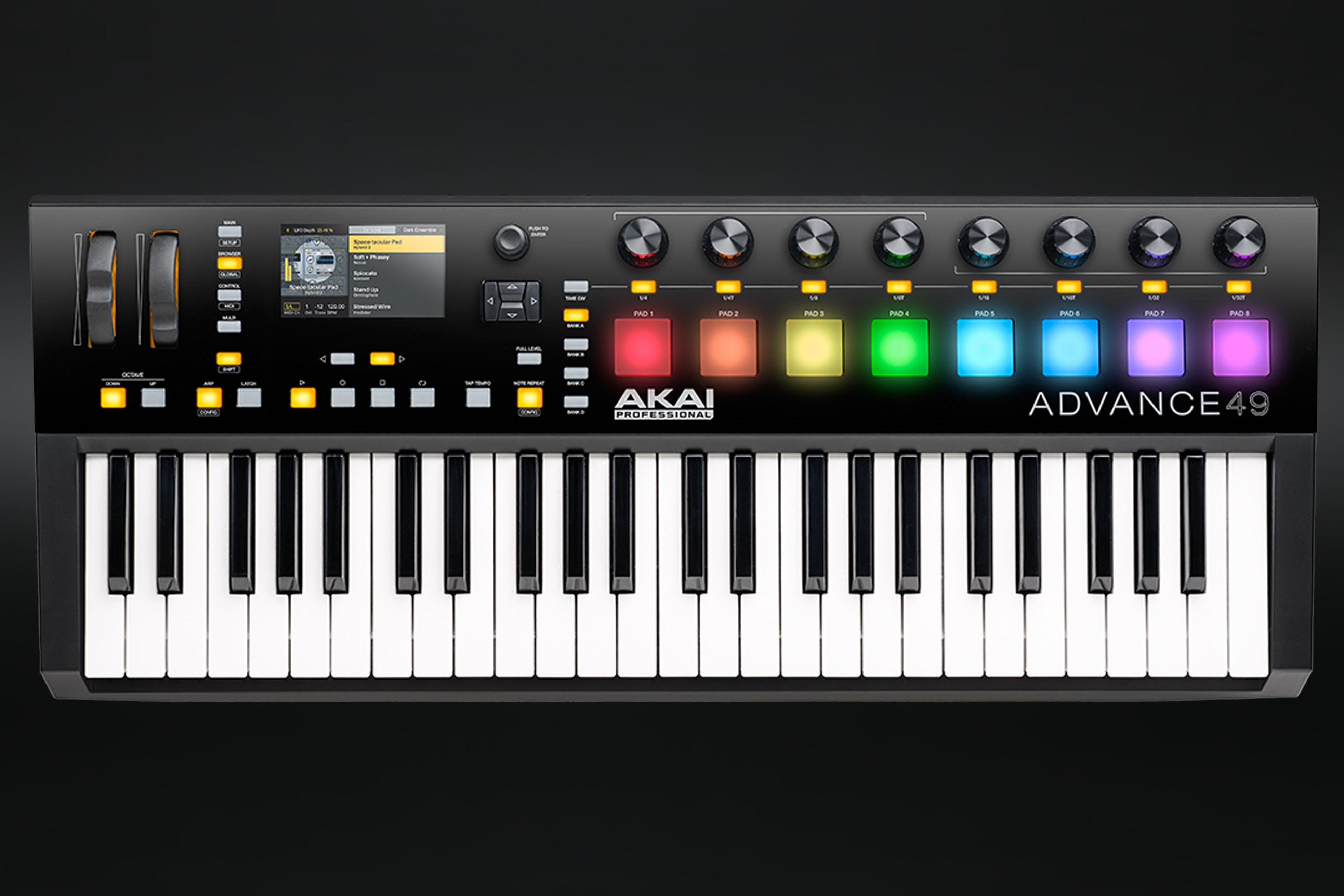 Akai Advance 49 Keyboard