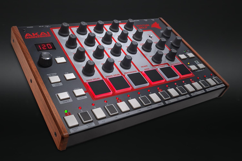 Akai Rhythm Wolf Analog Drum Machine & Synthesizer