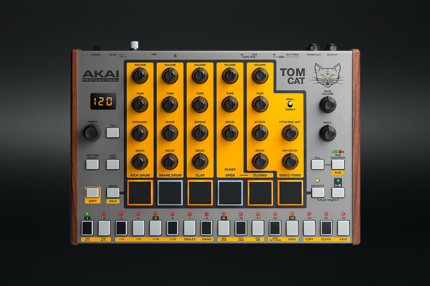 Akai Tom Cat Analog Drum Machine