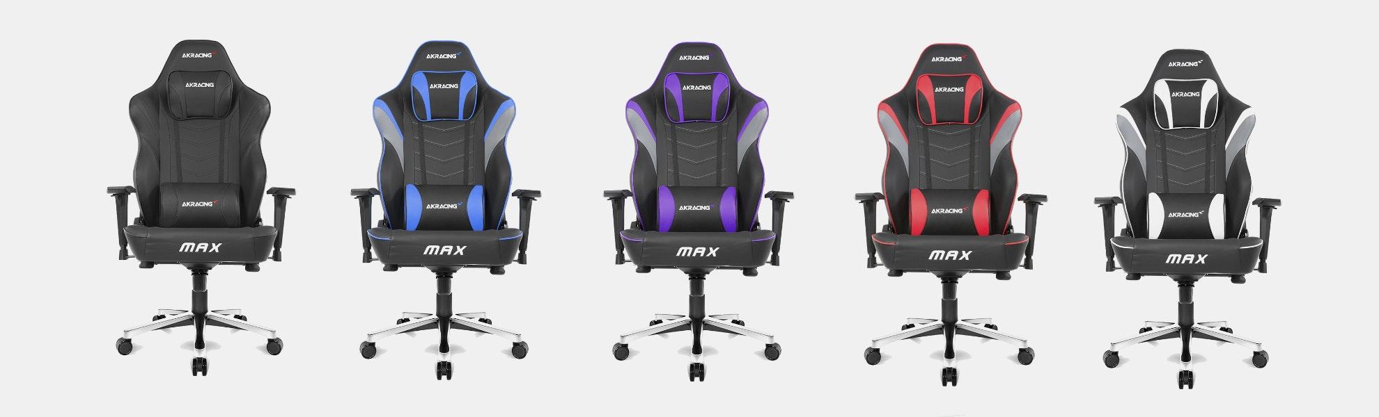 AKRacing MAX Gaming Chairs (2018 Models)