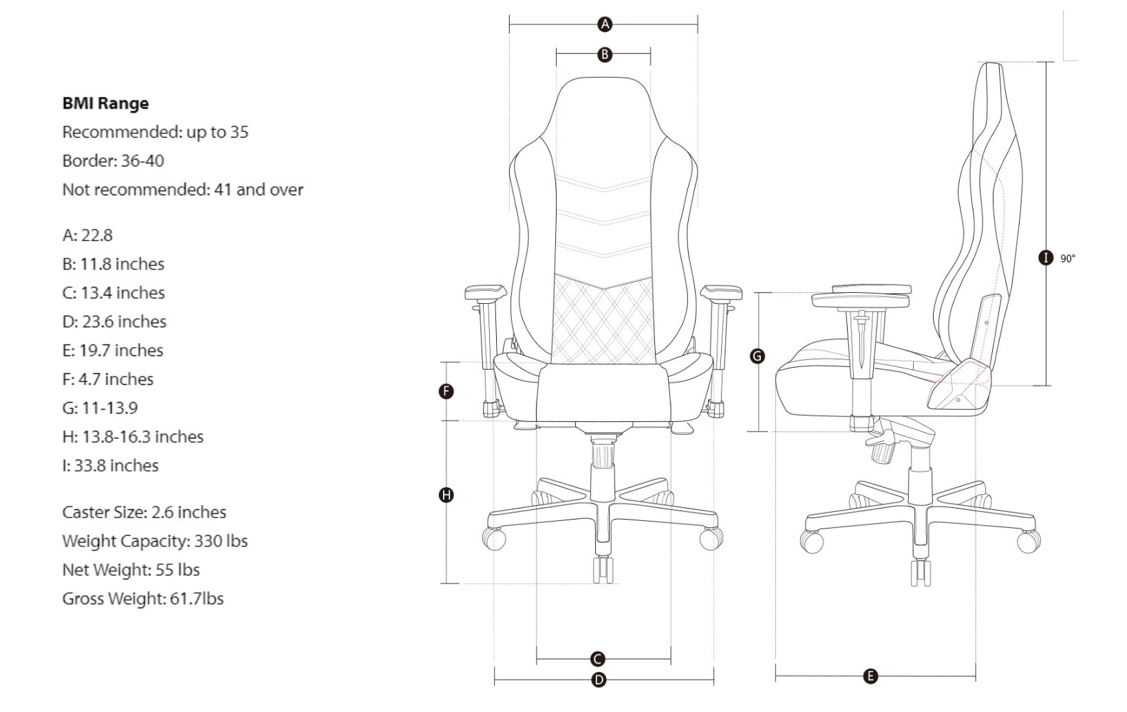 AKRacing ONYX Office Series Chairs (2018 Models)