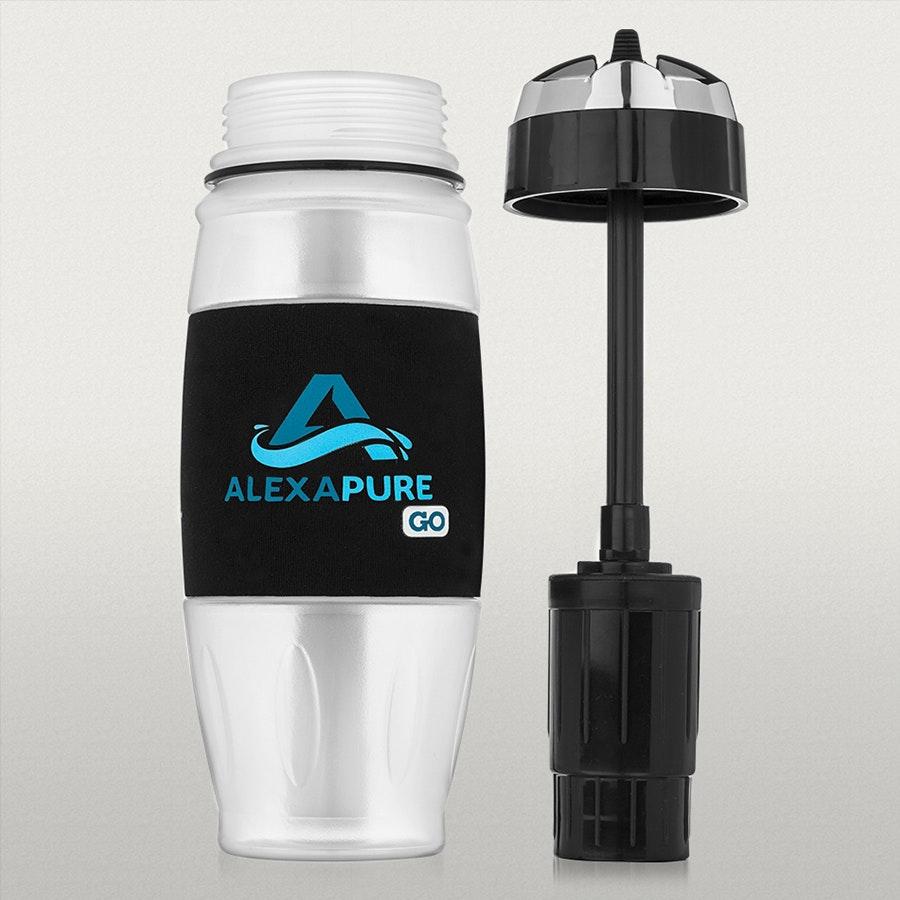 Alexapure Go Water Filtration Bottle