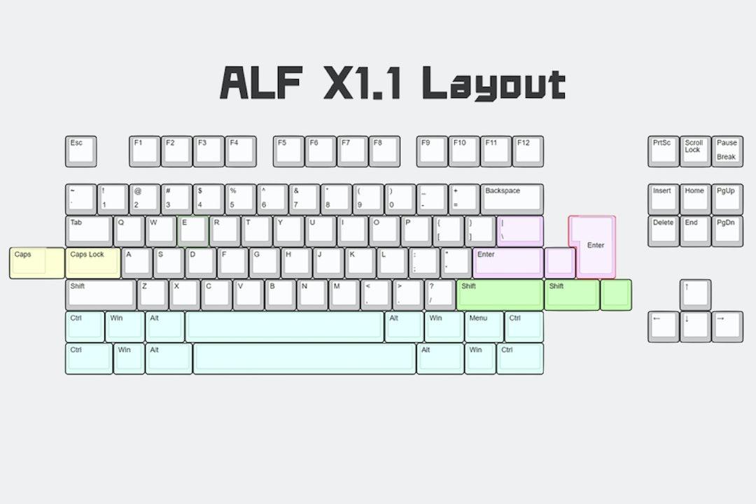 ALF Studio: x1.1 Custom Mechanical Keyboard Kit