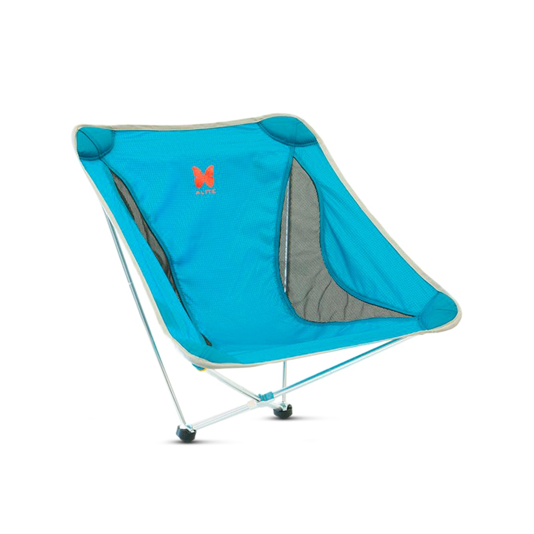 Black Alite Mantis 2.0 Collapsible Camping Micro Chair