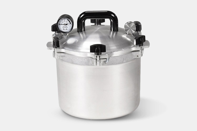 All American No.910 Pressure Canner/Cooker – 10.5 qt