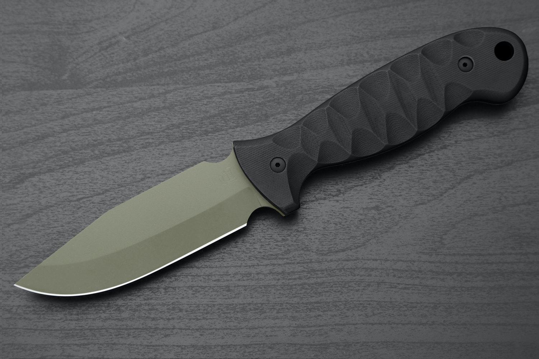 Black Handle/OD Green Blade