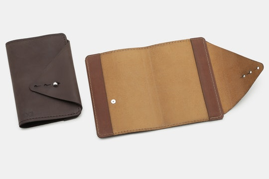 Allegory Goods The Wanderer Leather Notebook