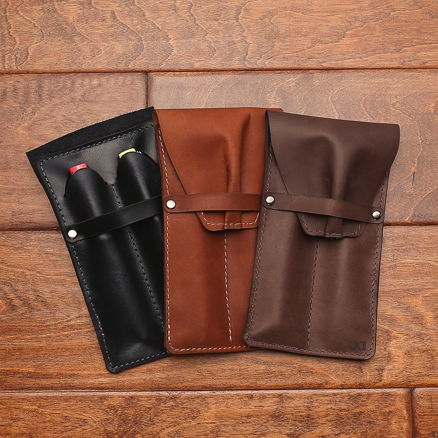 Allegory Leather 2-Pen Case