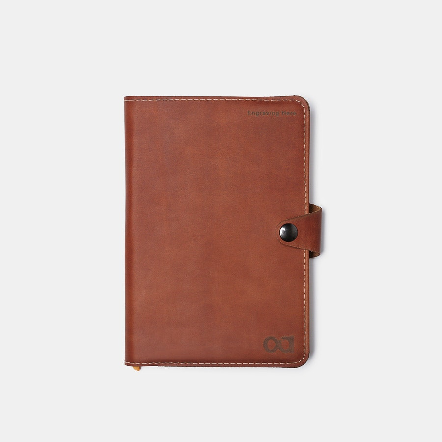 Allegory Leather Notebook Cover