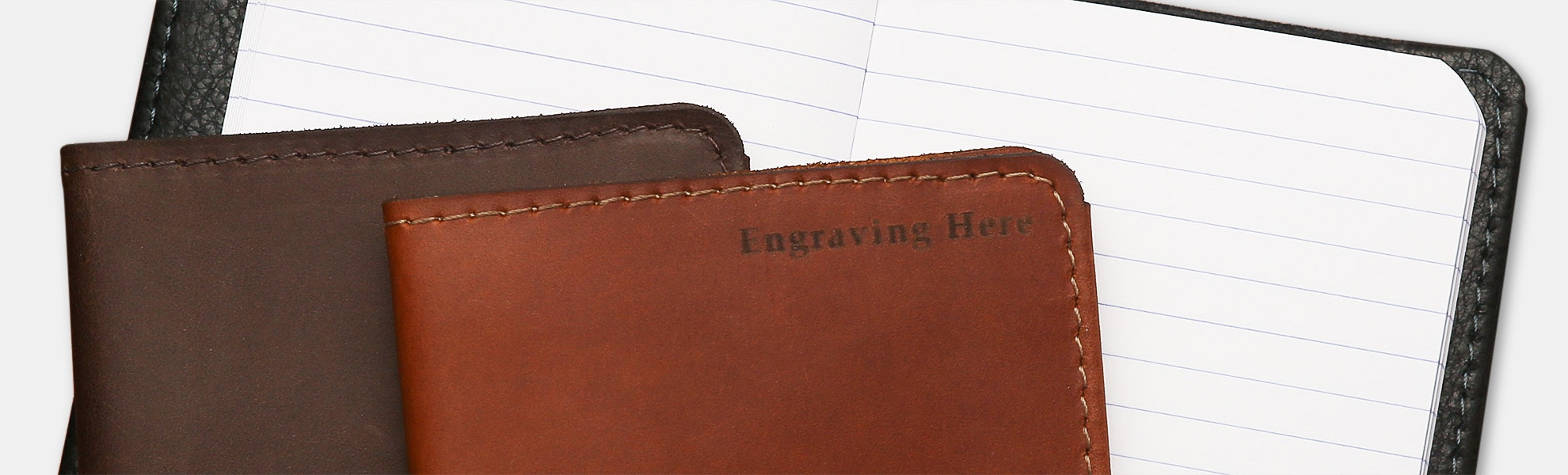 Allegory Leather Pocket Journal