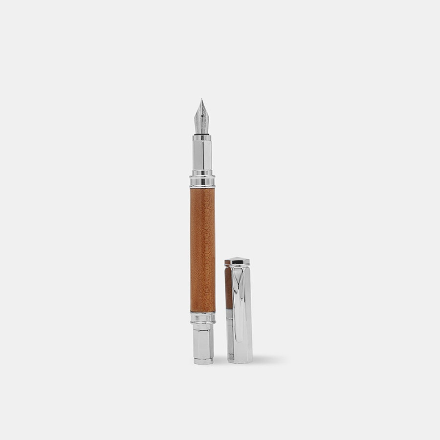 Allegory M1 Ancient Kauri Wood Fountain Pen
