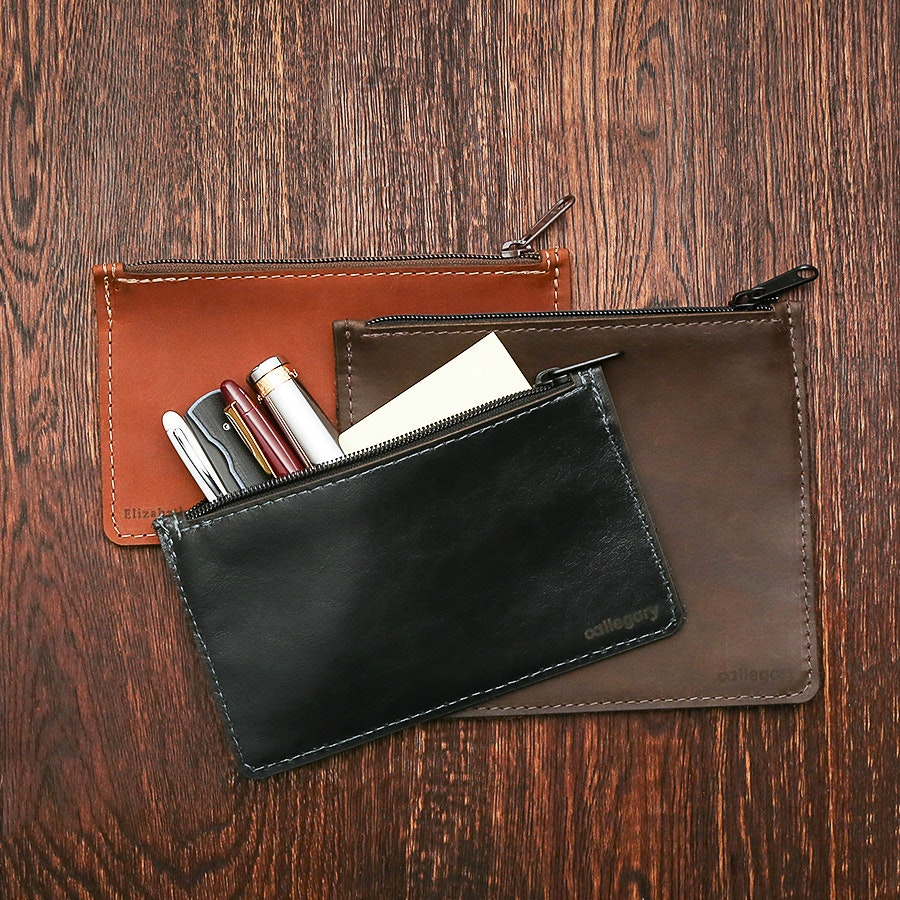 Allegory Leather Pen Pouch