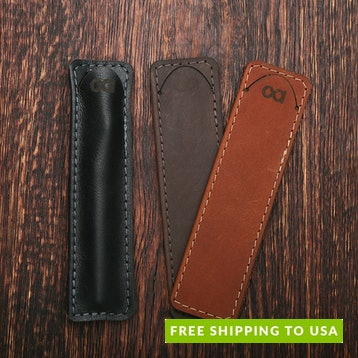 Allegory Leather Pen Sleeve (Set of 2)