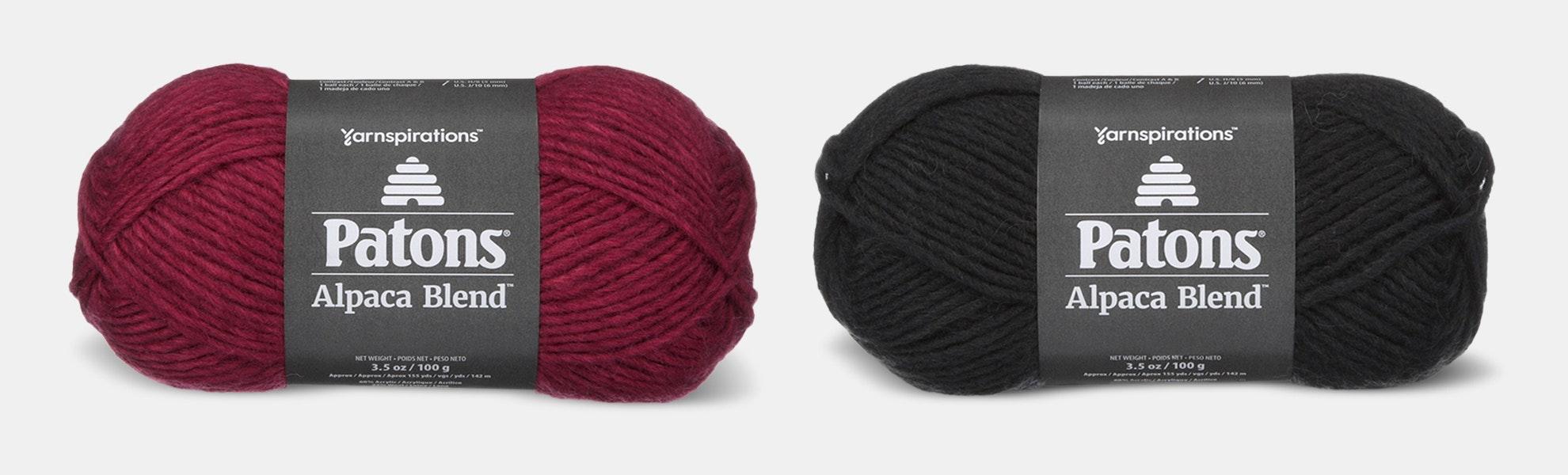 Alpaca Blend Yarn by Patons (2-Pack)