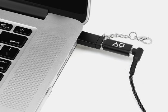 Alpha & Delta HI-FI Portable DAC Type-C Adapter