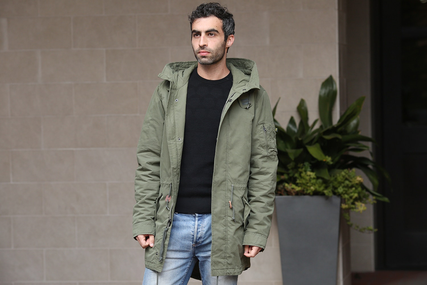 Alpha Industries J-4 Fishtail Parka