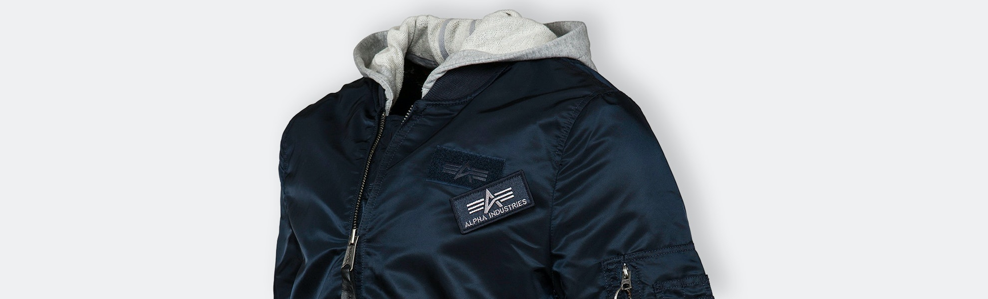 Alpha Industries L-2B Hooded Jacket