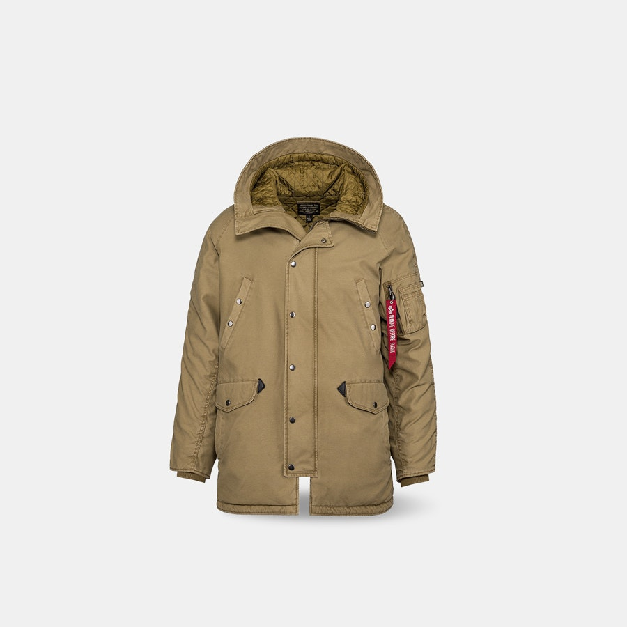Alpha Industries N-3B Barricade Cotton Parka