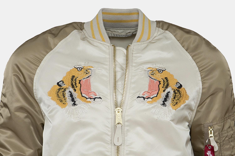 Alpha Industries Tiger Souvenir Jacket