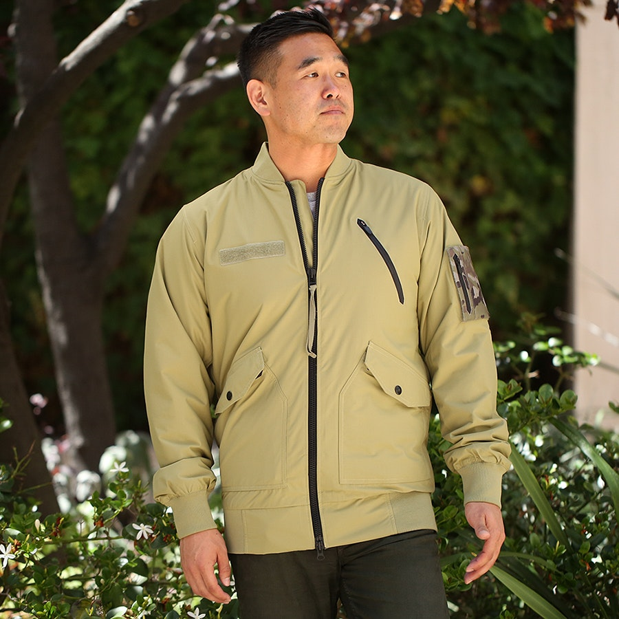Alpha Industries x Burton MA-1 Field Jacket