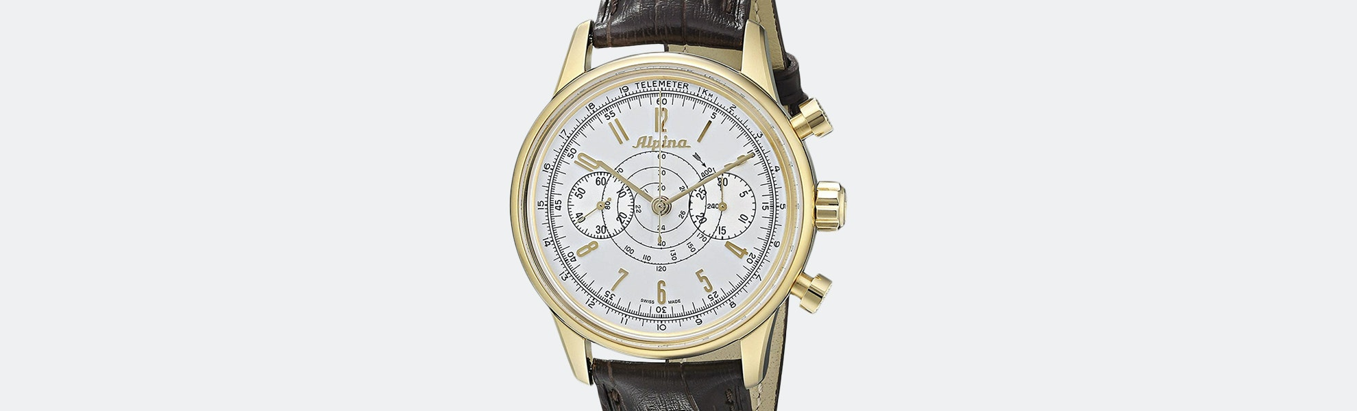 Alpina 130 Heritage Pilot Automatic Watch