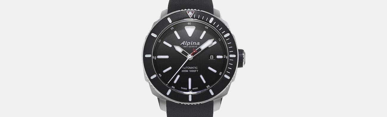 Alpina Seastrong Diver Watch Price Reviews Massdrop - Alpina automatic watch