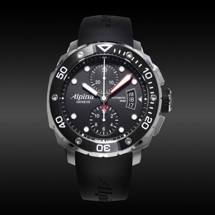 Alpina Seastrong Diver 300 Watch