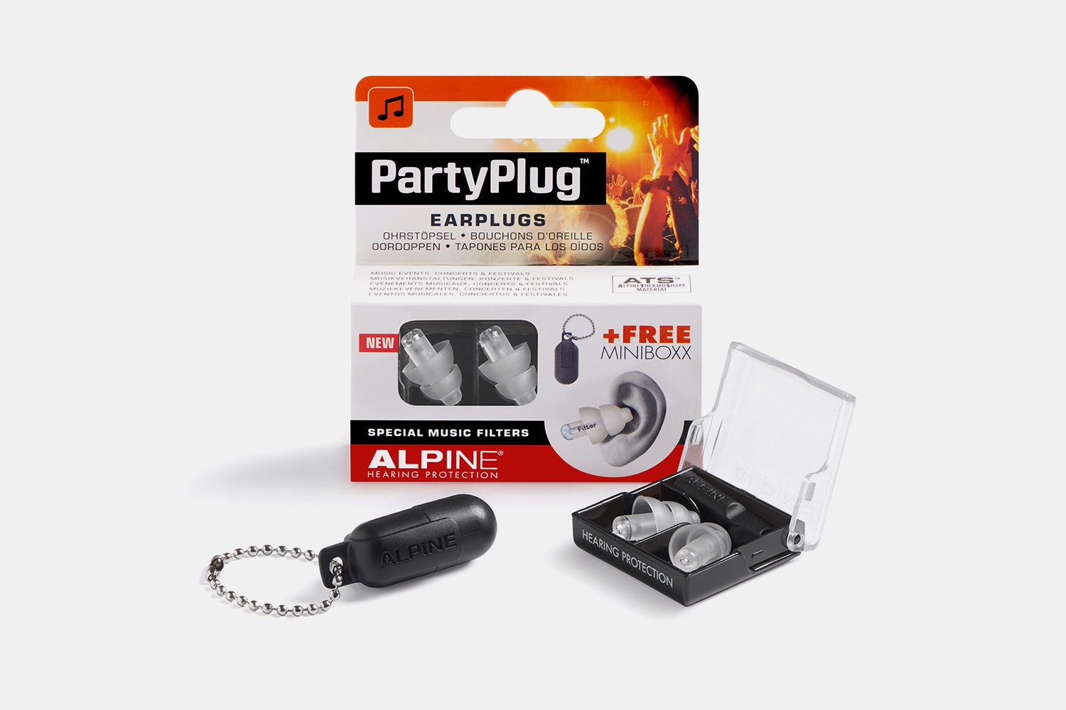 Party Plug Clear