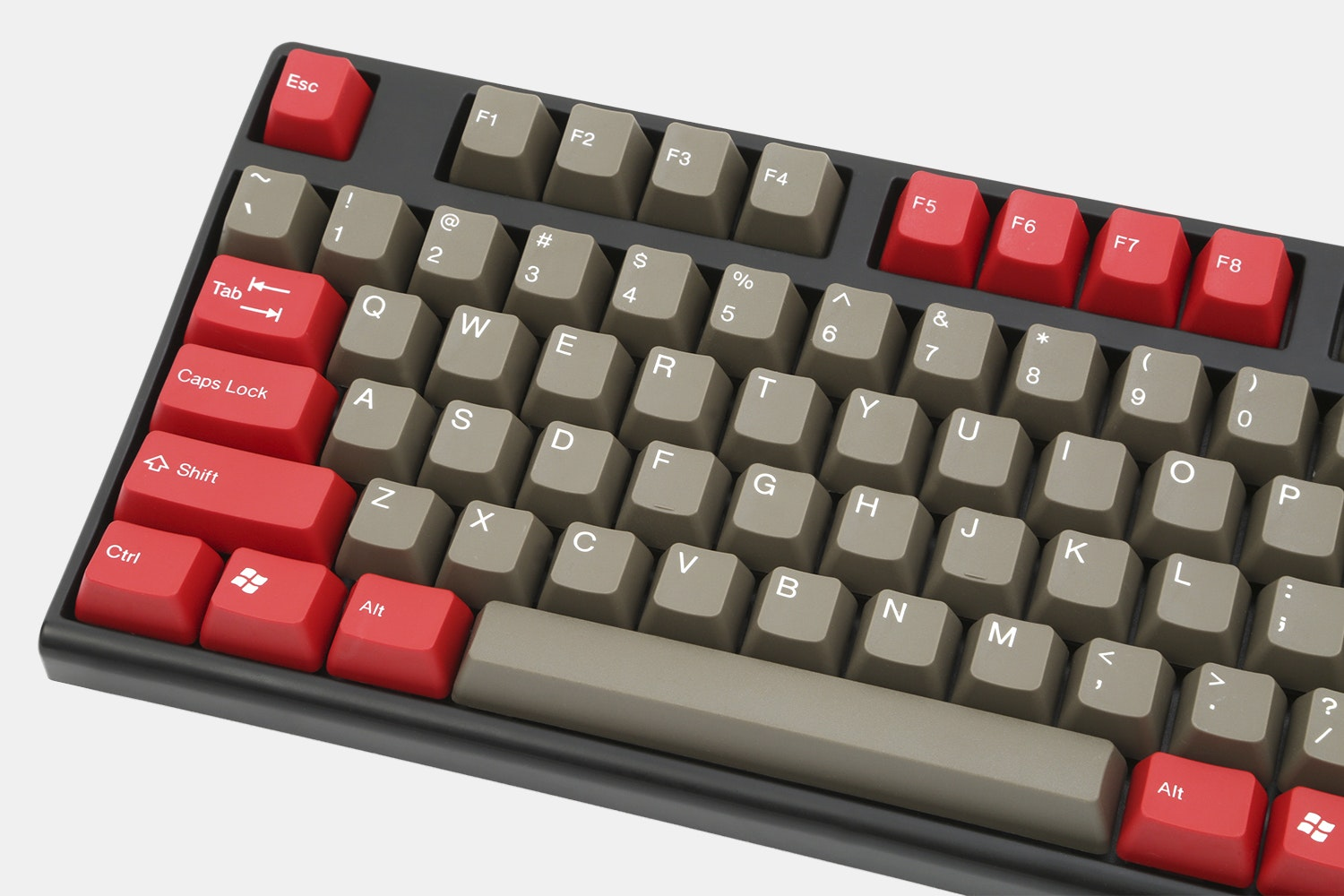 ALPS Switches Doubleshot ABS Keycaps