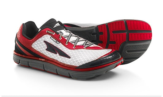 Men's, Racing Red/White