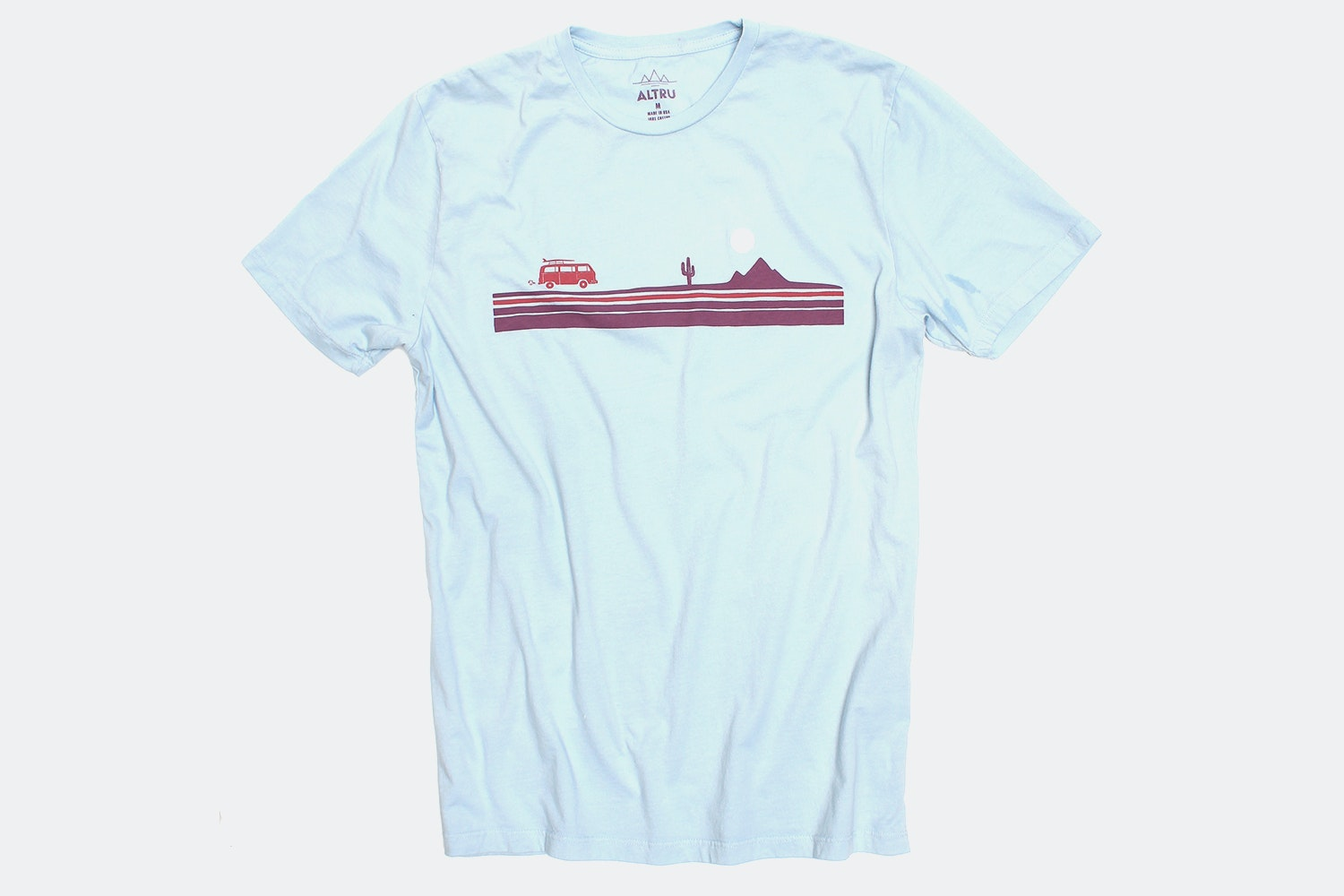 Road Trip Chest Stripe Tee