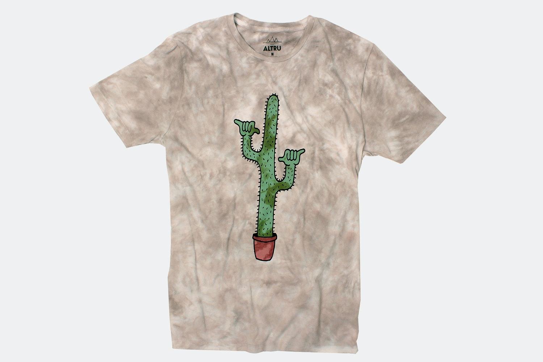 Shaka Cactus Tee