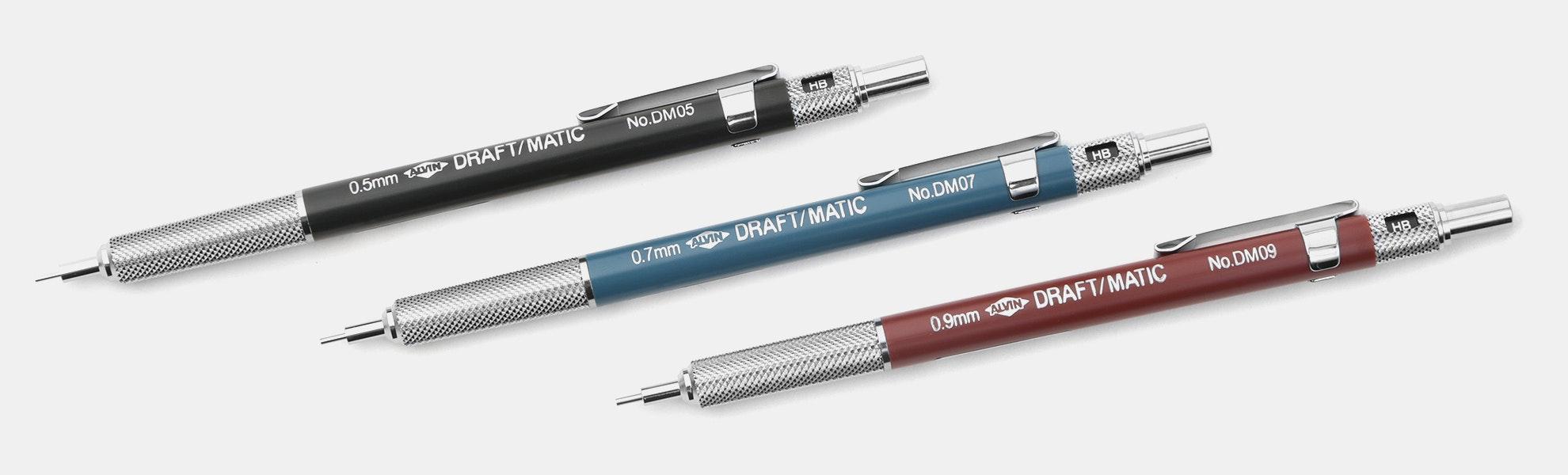 Alvin Draft-Matic Mechanical Pencil Set