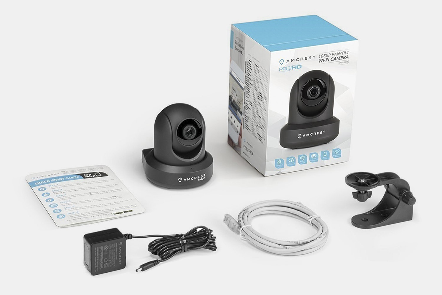 Amcrest 1080p WiFi w/Audio & Night Vision Camera