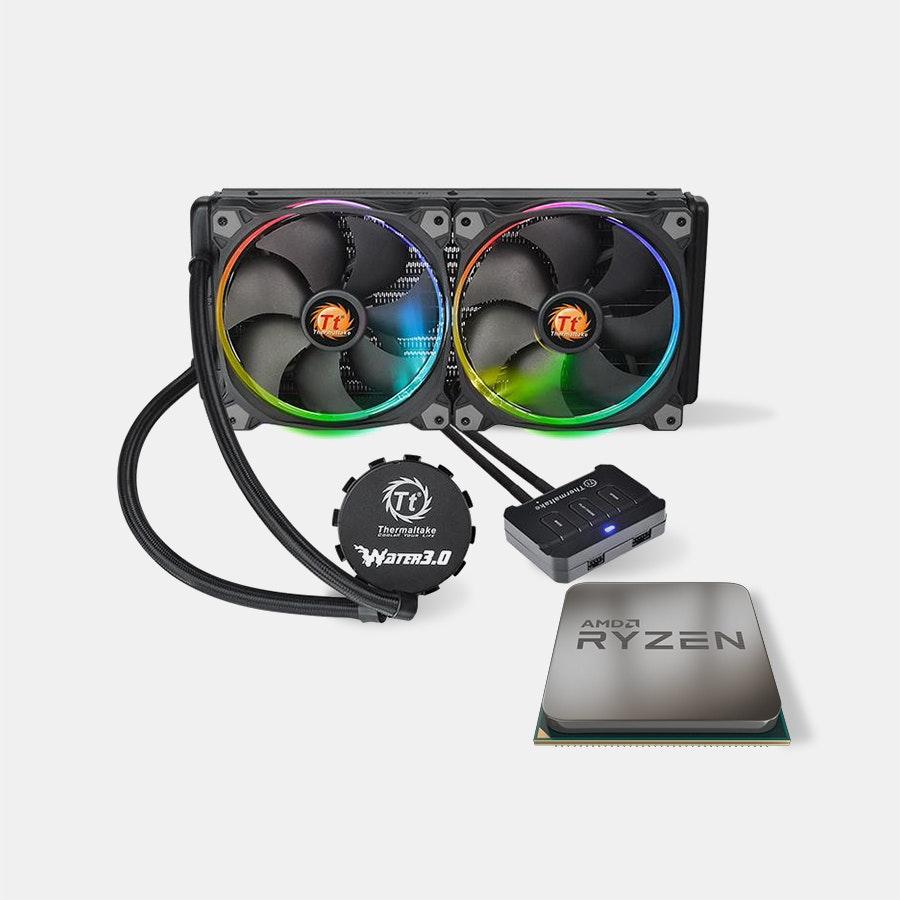 AMD Ryzen 7 1700X Water Riing RGB 280 Bundle
