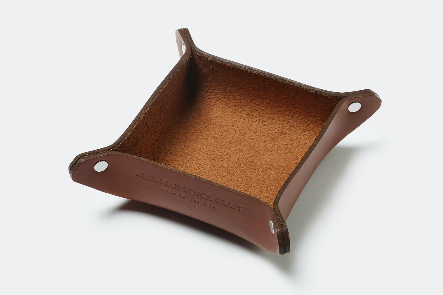 Valet tray  hand made in my studio with premium leather