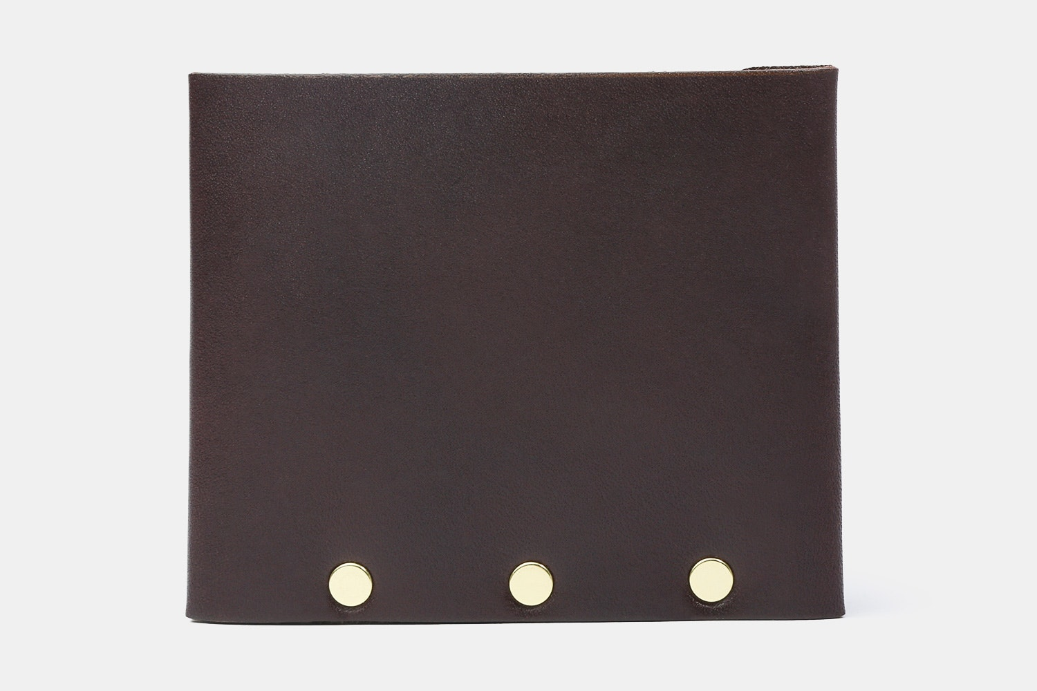 Brown Leather w/ Gold Rivets