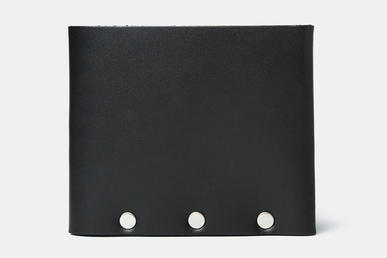 Black Leather w/ Silver Rivets