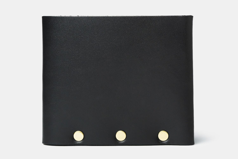 Black Leather w/ Gold Rivets