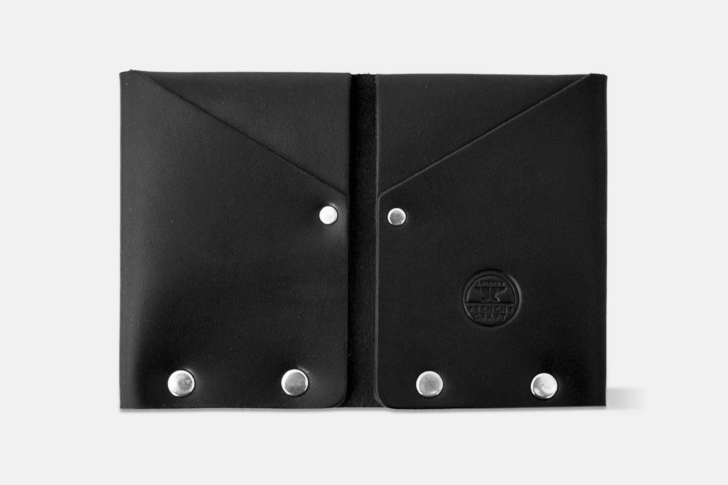 American Bench Craft Hammer Riveted Wallet