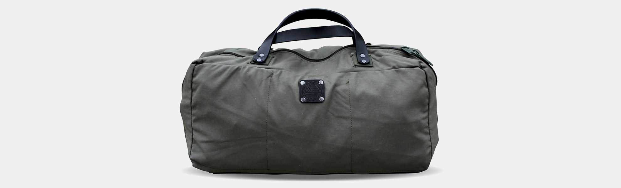 American Bench Craft Rescued Army Surplus Duffel