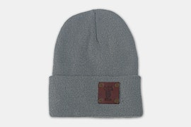 Riveted Watch Cap - For Any Frontier - Acrylic - Light Grey