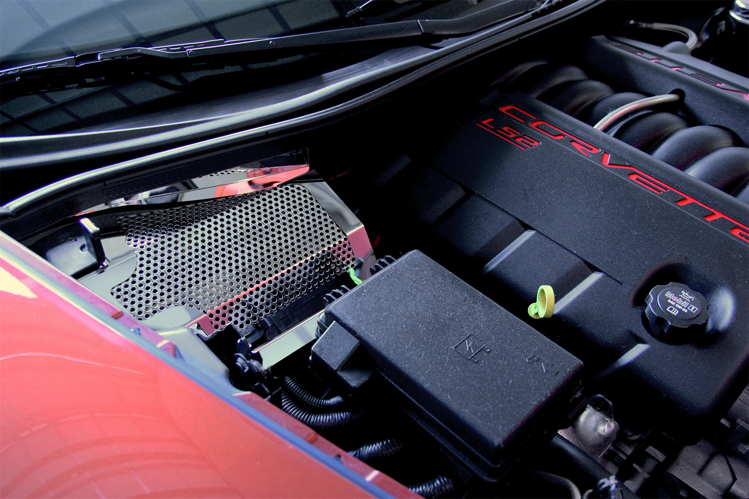 American Car Craft Battery Cover (C6)