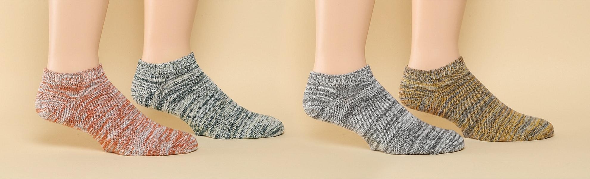 American Trench Summer Footie Socks (2-pack)